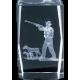 Cristal 3D - Caza