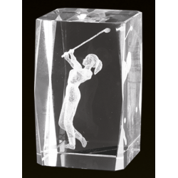 Cristal 3D - Golf Femenino