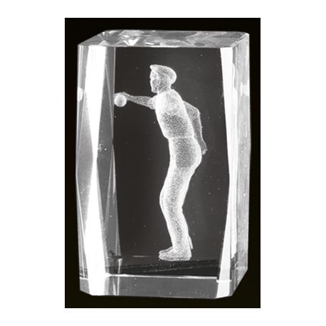 Cristal 3D - Petanca