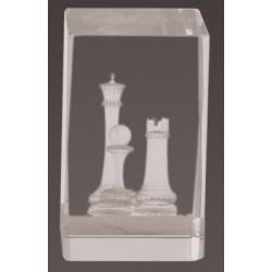 Cristal 3D - Ajedrez