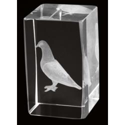 Cristal 3D - Pajaro 2